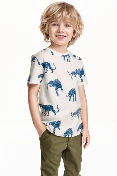 T-shirt met print | H&M