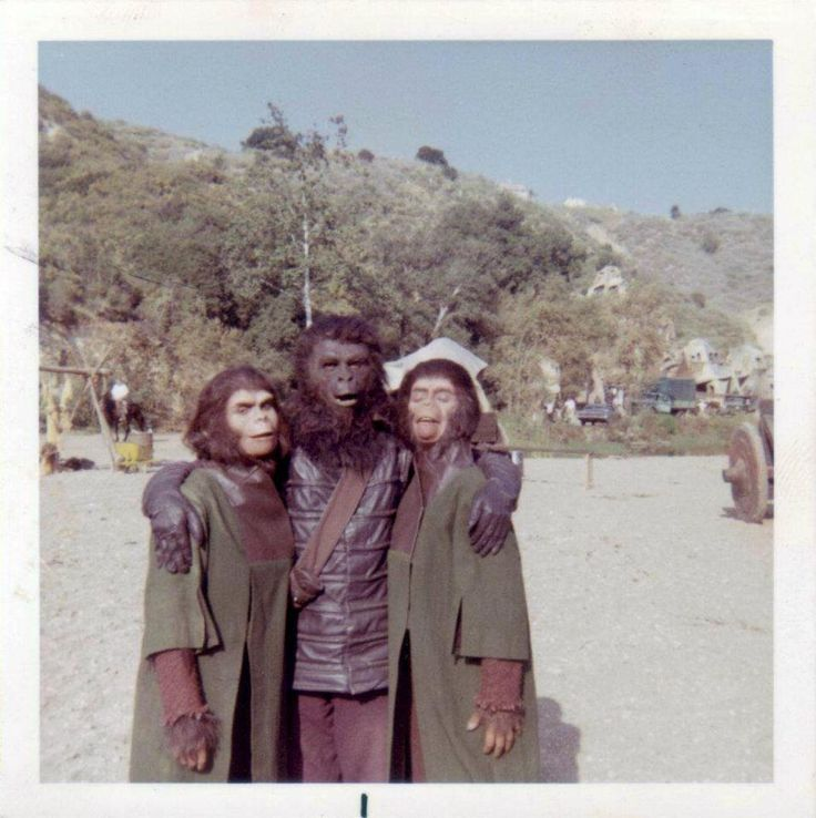 Archives Of The Apes: Apes On Set: Planet Of The Apes (1968)