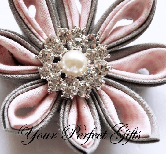 20 Round Circle Two Row Pearl Diamante Crystal by yourperfectgifts, $28.98