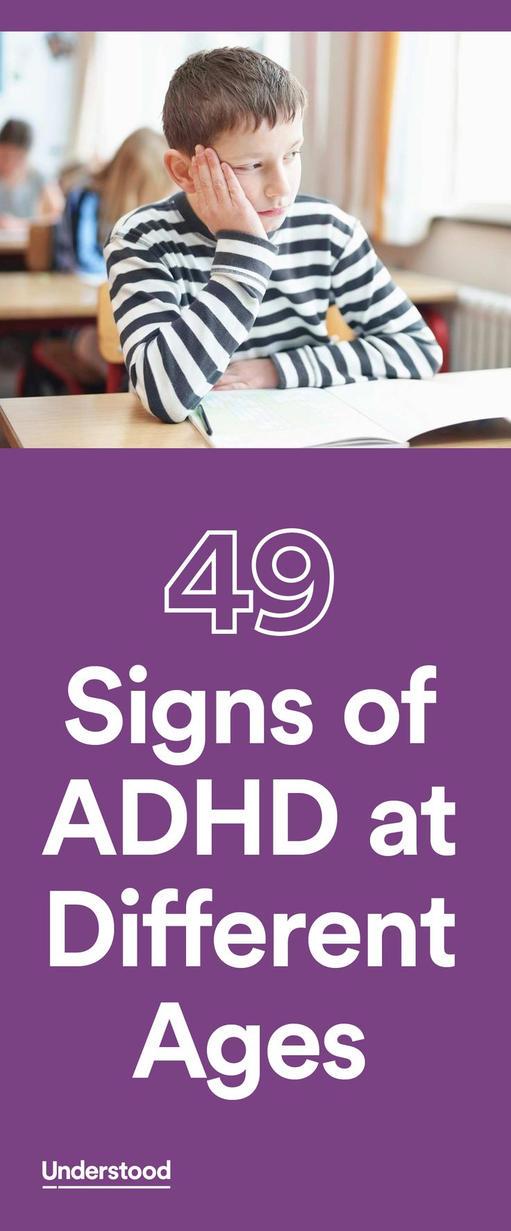 It's not always easy to spot ADHD symptoms. This checklist can help give you an idea of whether your child is showing signs of ADHD.
