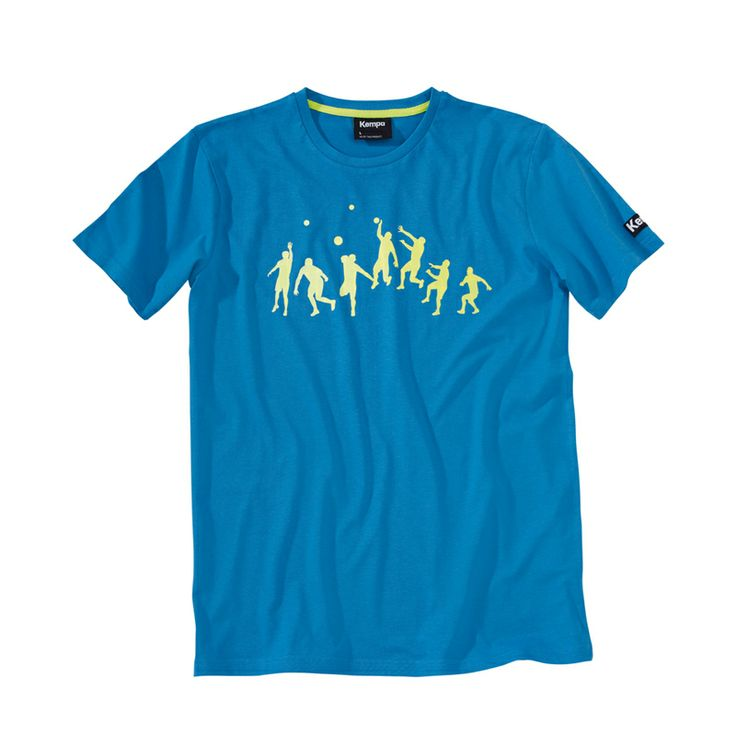 Kempa Handball T-Shirt Trick in blau im Handball Shop bestellen