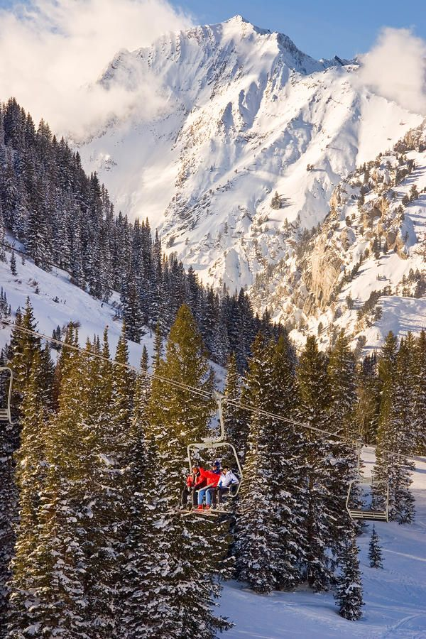 ✮ Alta Ski Resort - Wasatch Mountains - Utah - I feel so lucky to live in one of the most beautiful places on earth!!