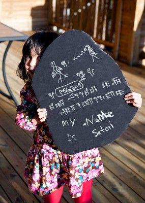 Make your own Rosetta Stone...Satori did!!