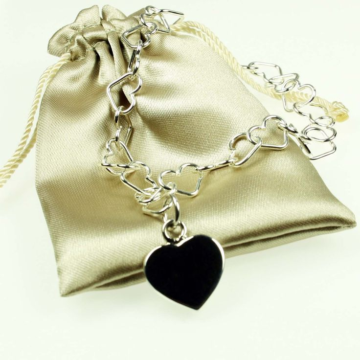 Ladies Tales From the Earth Silver Heart Necklace #silver #jewellery