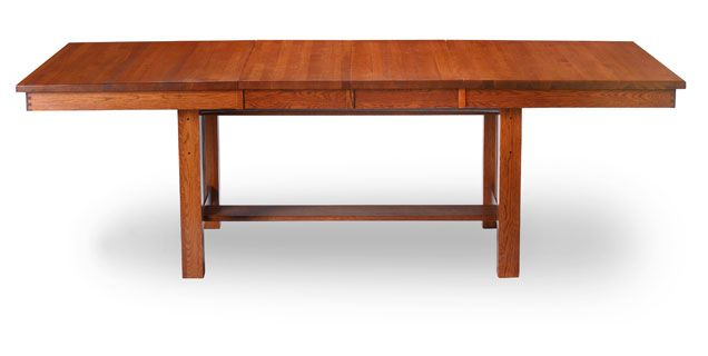 Oak Express Mission Dining Table TA INMITT Dining Room Pinterest Tab