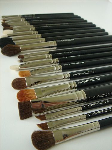 M.A.C. brushes will serve you a lifetime.  Aside from the labels wearing off the handles after YEARS and I mean since high school, nothiing changes from the day you bought.  Just wash after EVERY use