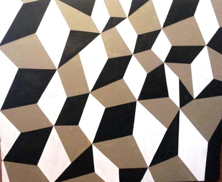 "Totem""s friend. Acrylioc on canvas. 1mx1,2m."