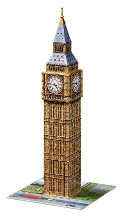 Big Ben 3D Puzzle: Ravensburger: Amazon.co.uk: Toys & Games