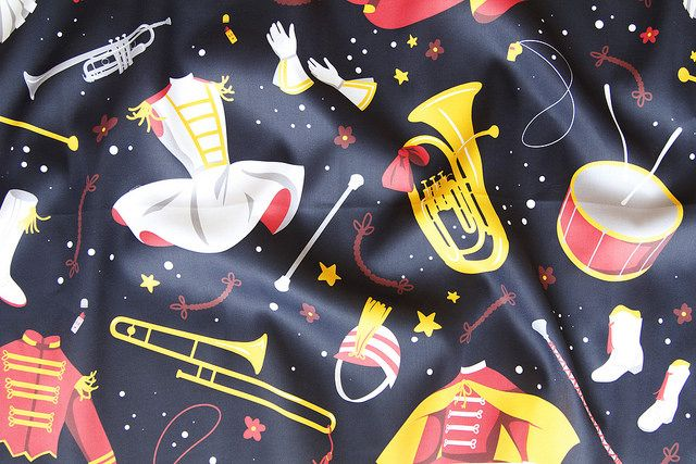 10 Marching Band Fabrics For Band Geeks