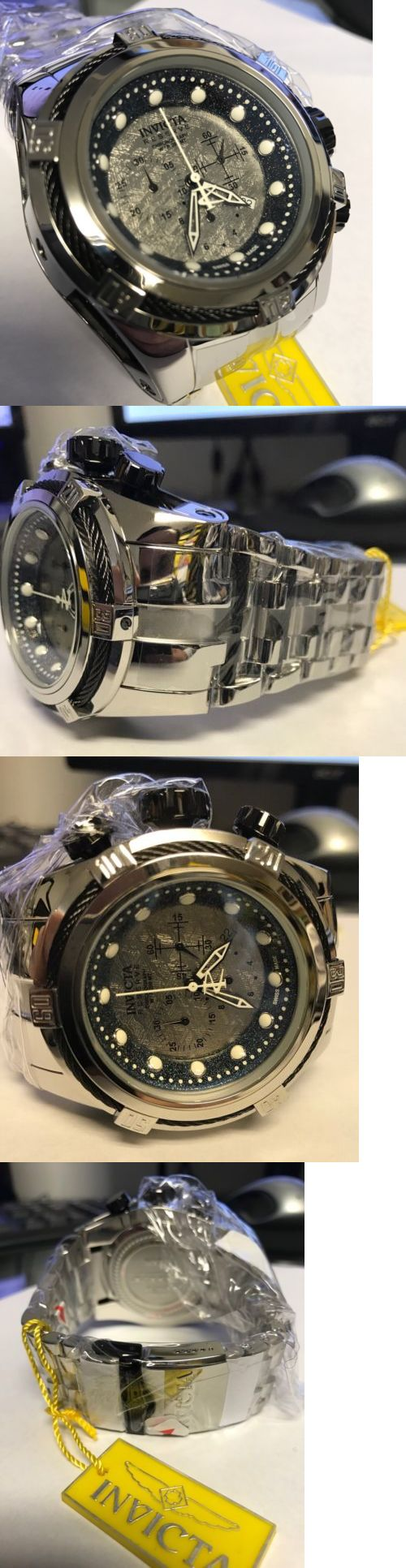 Other Jewelry and Watches 98863: New Invicta 19732 Meteorite Dial Invicta Swiss Made Chronograph Watch BUY IT NOW ONLY: $899.99