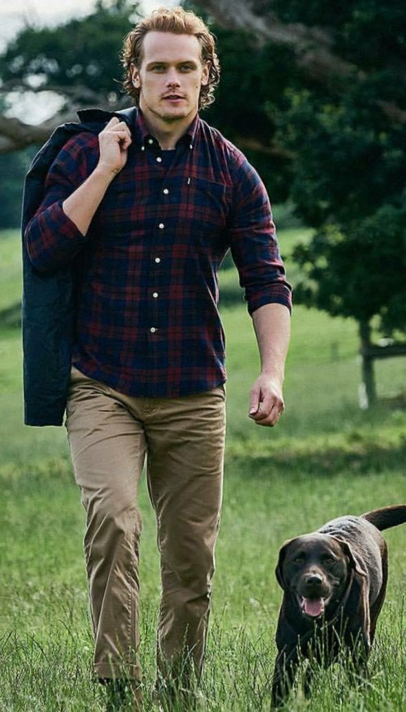 Sam Heughan for barbour                                                                                                                                                                                 More