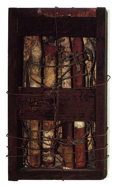 Hannelore Baron Untitled Box Construction1985