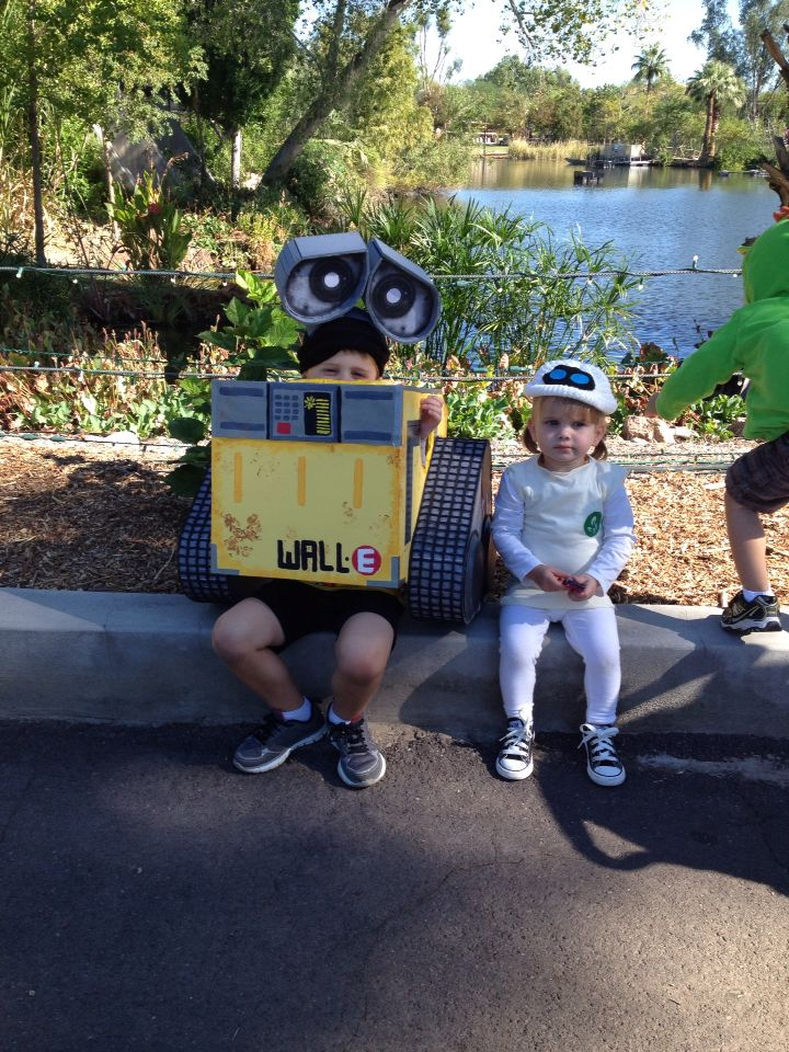 walle and eve costumes