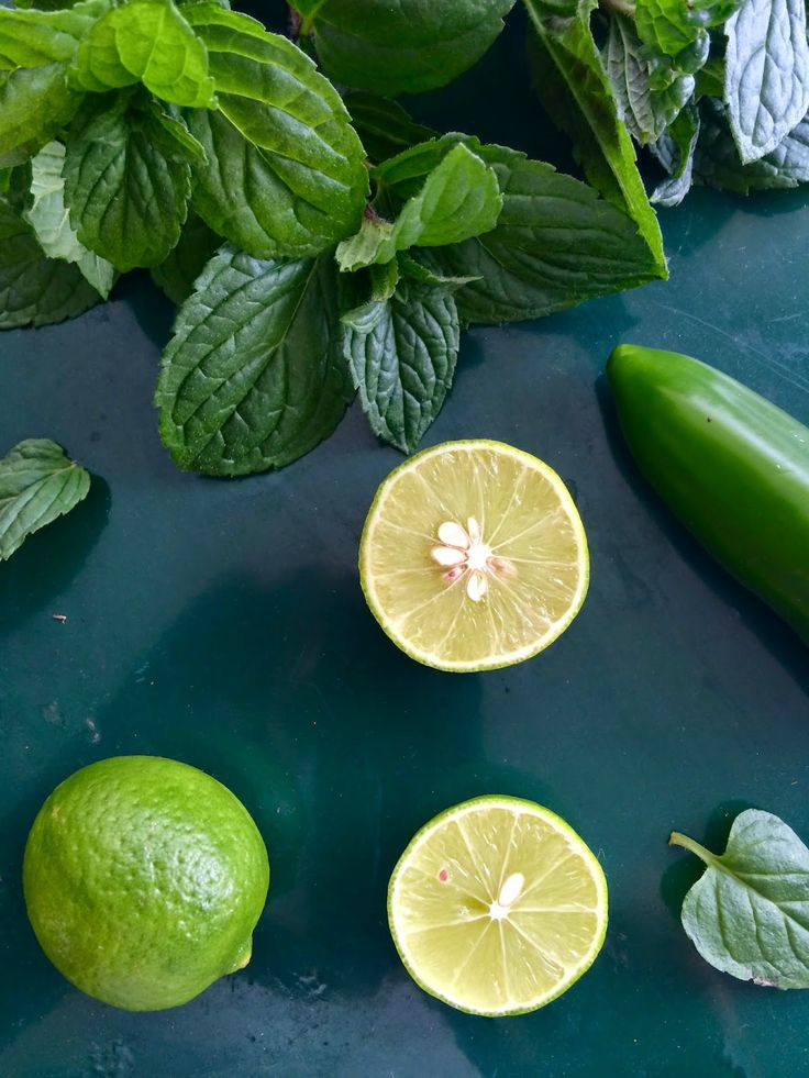 Passionately Raw! - Fresh Mint, Jalapeno and Key Limes