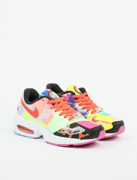 los angeles db5f3 bafbe Nike x Atmos Air Max2 Light QS - Black Bright Crimson
