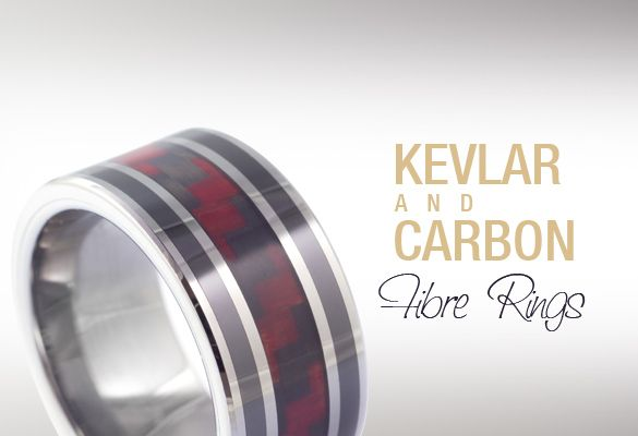 Kevlar bands by mad tungstenrings at http madtungsten for Kevlar wedding ring