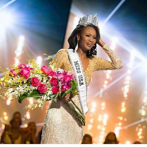 Afro-americana Deshuana Barber eleita Miss USA 2016 http://angorussia.com/lifestyle/moda/afro-americana-deshuana-barber-eleita-miss-usa-2016/