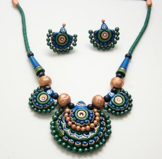 Mind blowing  Terracotta Jewellery Design