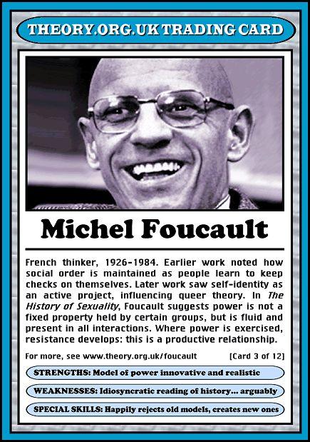 Socio-Lingo: Let's Talk Sociology: Michel Foucault's Birthday