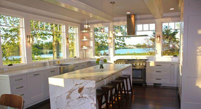 Large Kitchen Windows Over Sink Kitchen Hoods Kitchen