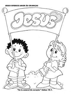 PEQUENOS ADORADORES DO REI JESUS: ´Desenhos para imprimir e colorir