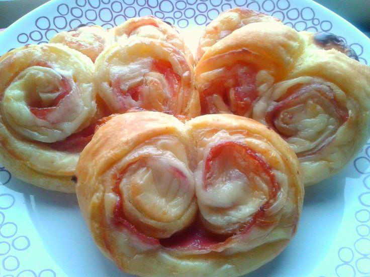 Palmeras de Bacon y Queso. | Cocina A Buenas Horas