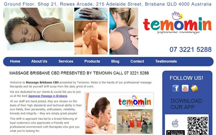Welcome to Massage Brisbane CBD presented by Temomin. Relax in the hands of our professional massage therapists and let yourself drift away from the daily grind of work. We are dedicated to our clients & would like you to join us at the best Japanese Massage in Brisbane.