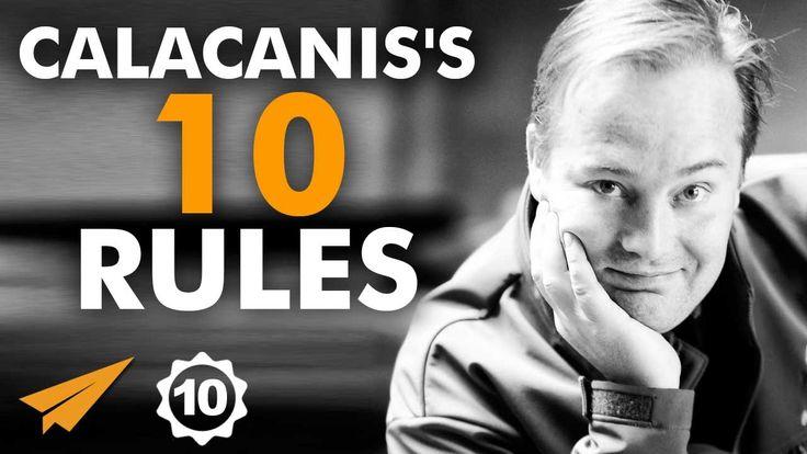 Jason Calacanis Interview - Jason Calacanis's Top 10 Rules For Success
