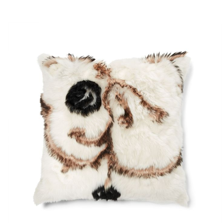 Inspired by a rustic yet refined shearling coat from our Fall 2015 Collection, this American-made throw pillow embodies iconic Ralph Lauren design and pure luxury.