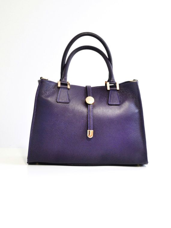 Italian handbag high quality with sleeve by TuscanyLeatherIdeas