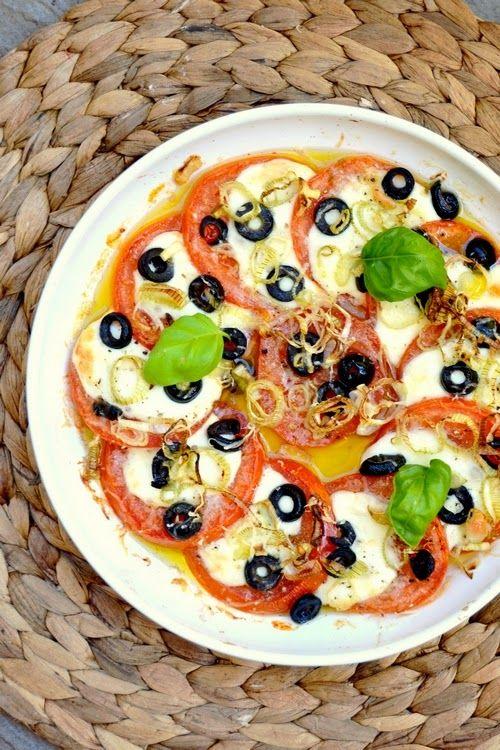 S vášní pro jídlo: Zapečené caprese