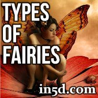 The following explanation of the various types of fairies is an excerpt from an article entitled, 'The Real World of Fairies – Dora Van Gelder Kunz'.