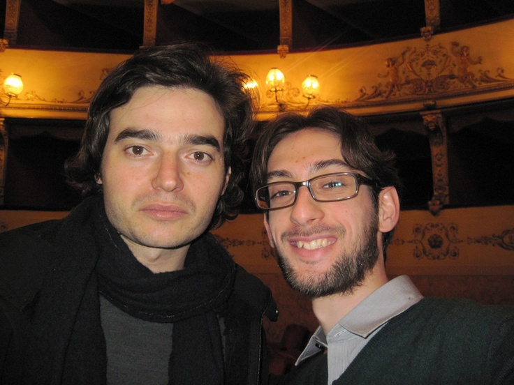 Io e Paolo Briguglia