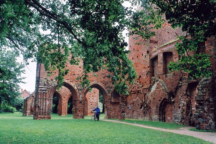 Convent Eldena,Greifswald, close to the Border to Poland.