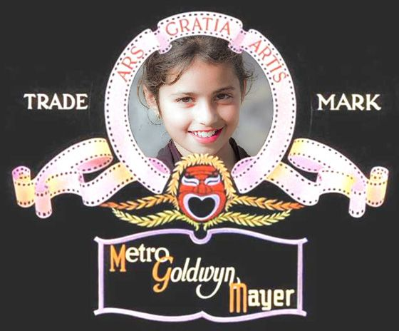 Fotoefecto Metro Goldwyn Mayer.