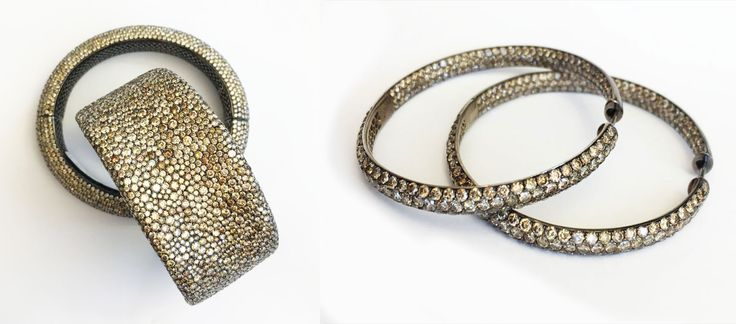 And a close up look of Despoina's Vandi style pieces at MAD VMAs