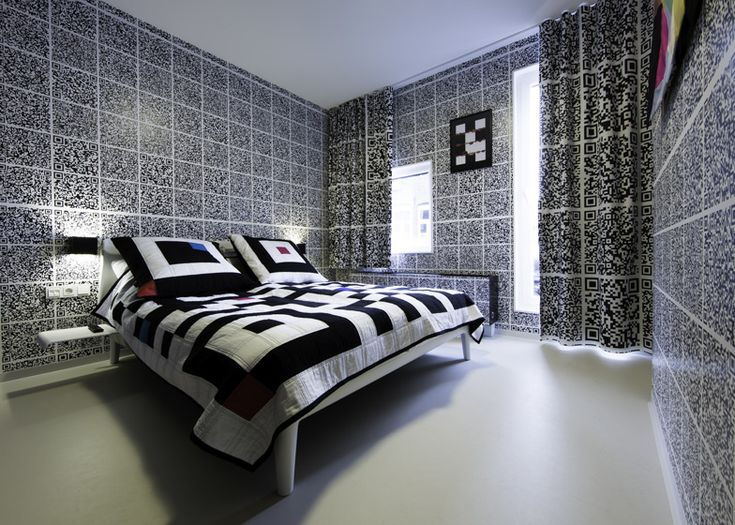 QR-Nightmare?Hotels Room, Hotels Modez, Qr Codes, Peter O'Tool, Interiors Architecture, Fashion Design, Interiors Design, Antoine Peter, Qrcodes