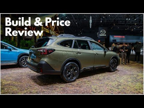 2020 Subaru Outback Onyx Edition Xt Build Price Review Subaru Outback Subaru Outback