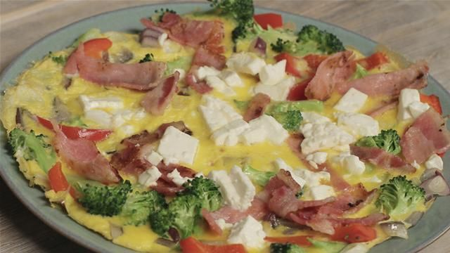 Get Lean In 2015: Bacon And Feta Omelette | Watch the video - Yahoo Lifestyle UK UK
