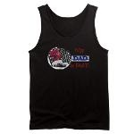 BE Dad's # 1 Fan with BE Fast Men's Dark Tank Top $17.99 from Balanced Expressions at tinyurl.com/BEDads