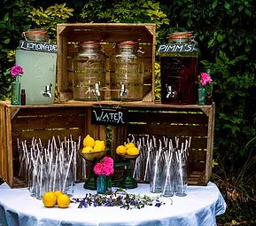 Fairly Vintage - Vintage Wedding Party Hire | Drink Station
