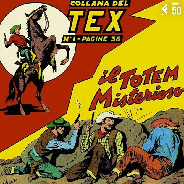"""""""Per tutti i diavoli, che mi stiano ancora alle costole?"""" Con questa frase fa la sua prima apparizione nel 1948 #TexWiller"""