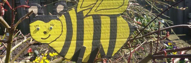 #Nationale #Bijentelling 22 april.. ben jij er ook #BIJ om te tellen??inclusief leuke bijenknuttels Bijtjes knutselen knutseltips