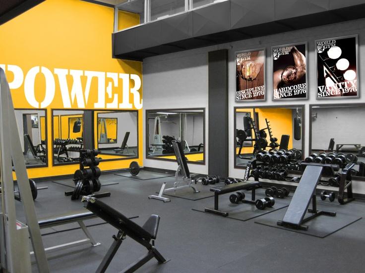 164 best 6 gimnasios images on pinterest for Gym interior design