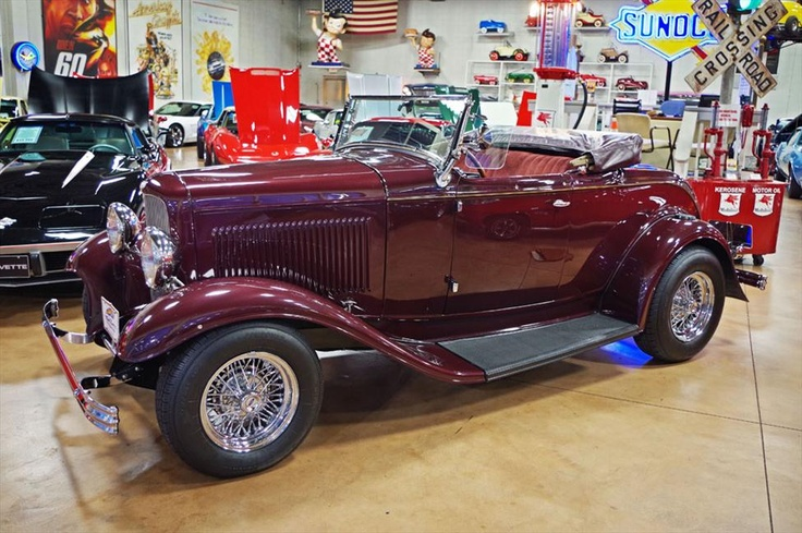 1932 Ford Rumble Seat Roadster at Fast Lane Classic Cars