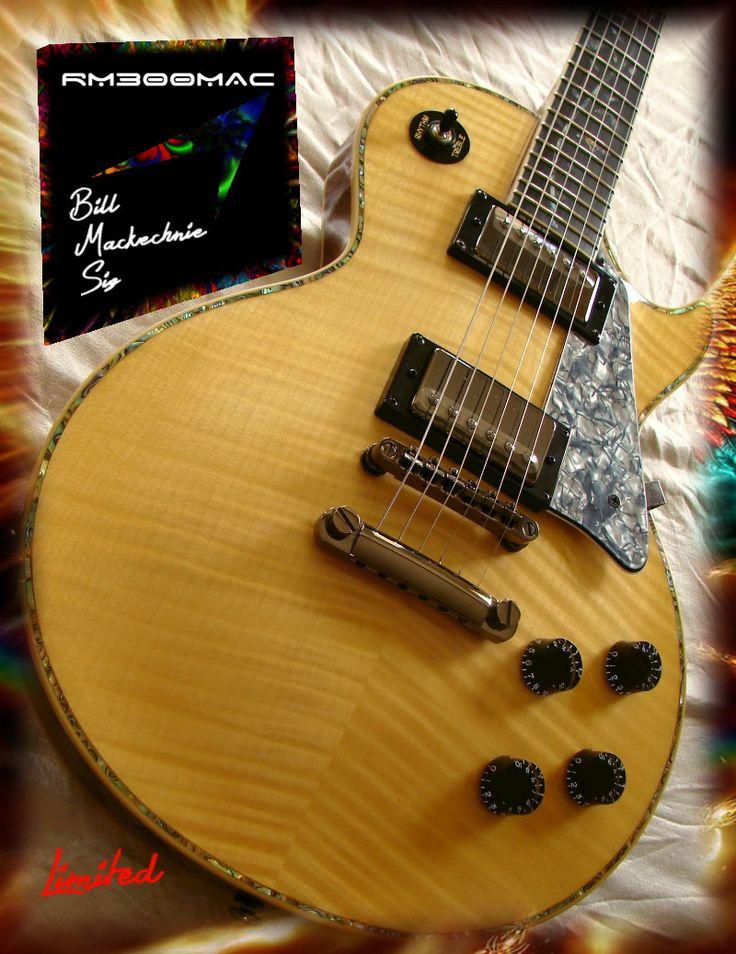 RWG - Bill MacKechnie Signature Guitar RM300MAC MACKECHNIE SERIES NATURAL FLAME #J-6-1182