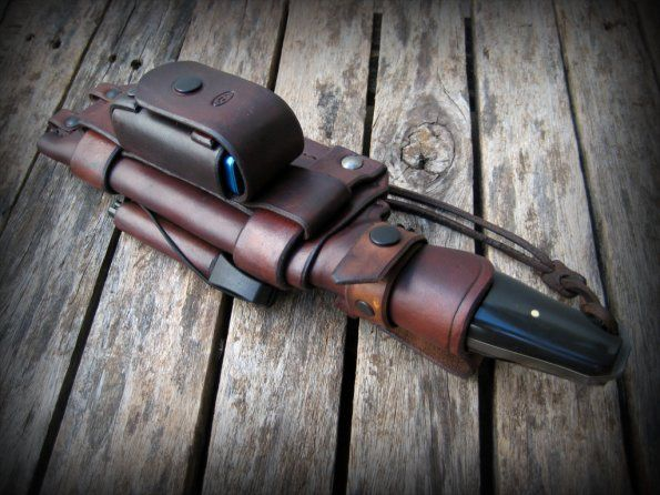 Firewalker | VCA Knives Portfolio | VCA Custom Knives from Brazil - bushcraft sheath