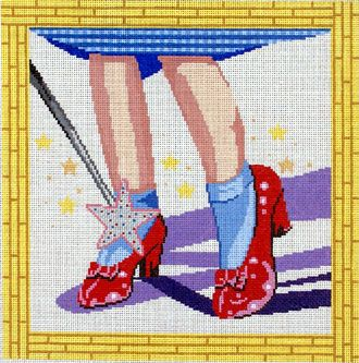 Needlepoint Alley, Inc.: 10- Ruby Slippers