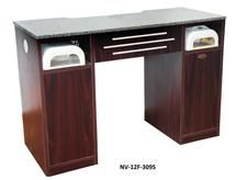 Manicure Table with Built-In Vacuum - NV-F12-309S