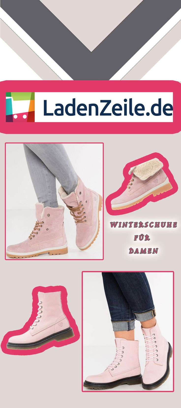 #tamaris, Winterschuhe für Damen, Damenwinterschuhe, Tamaris, pink ***Gefällt's dir? Auf LadenZeile.de gibt's noch mehr davon***